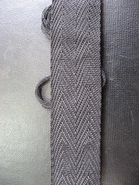 Лесенки тесёмочные black